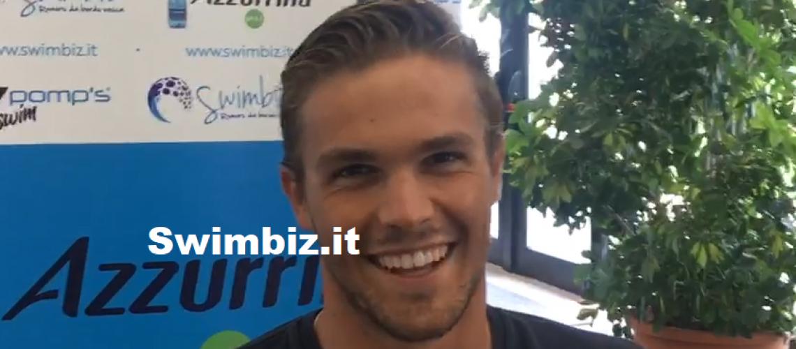Alessio Proietti Colonna a Swimbiz