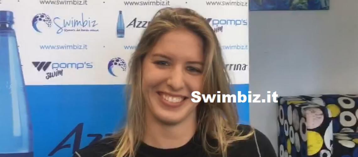 Aurora Petronio a Swimbiz