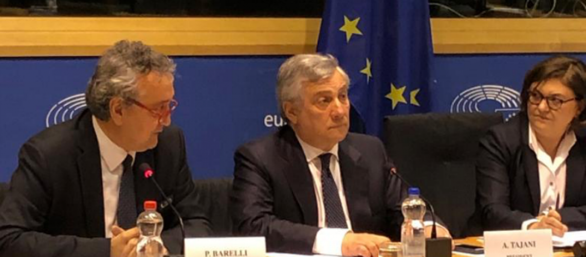 Paolo Barelli e Antonio Tajani