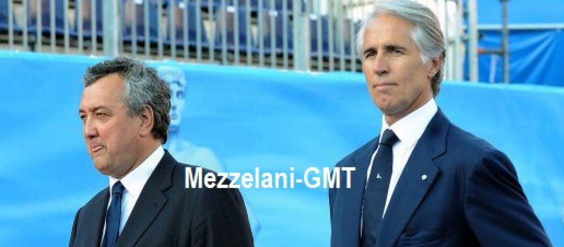 I Presidenti Paolo Barelli (sx) e Giovanni Malagò (dx)
