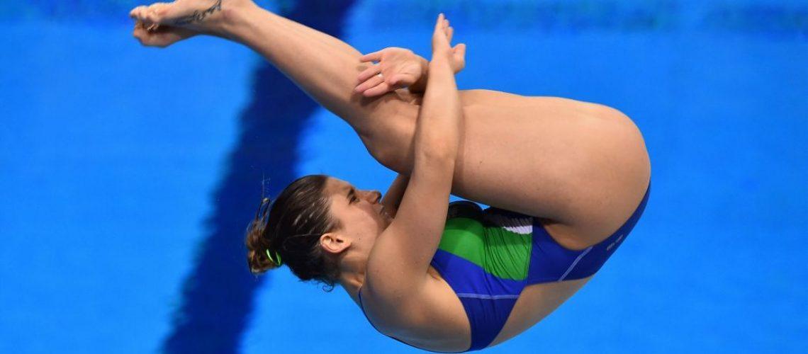 Elena Bertocchi, campionessa europea da 1 m