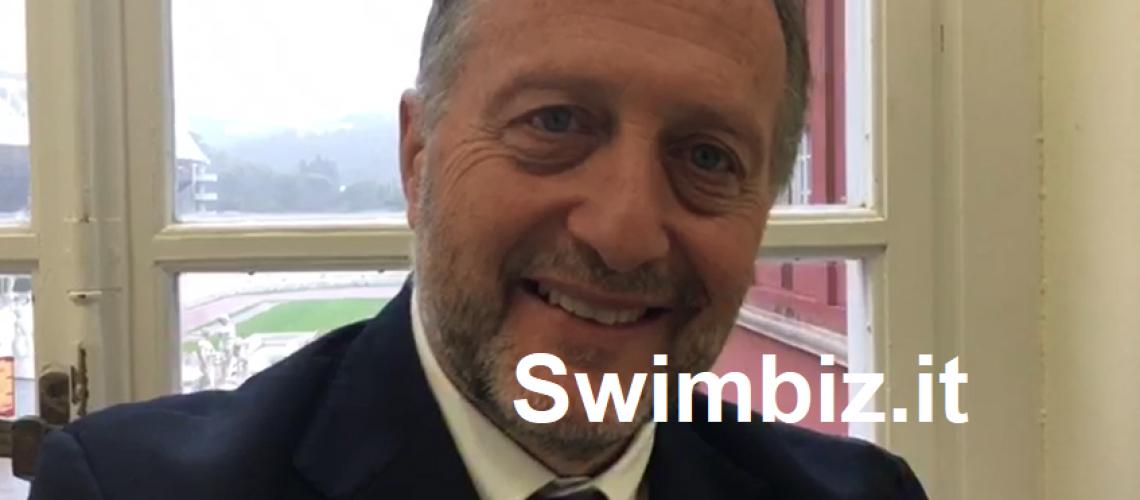 Carlo Allegrini al Flash Acquatico di Swimbiz