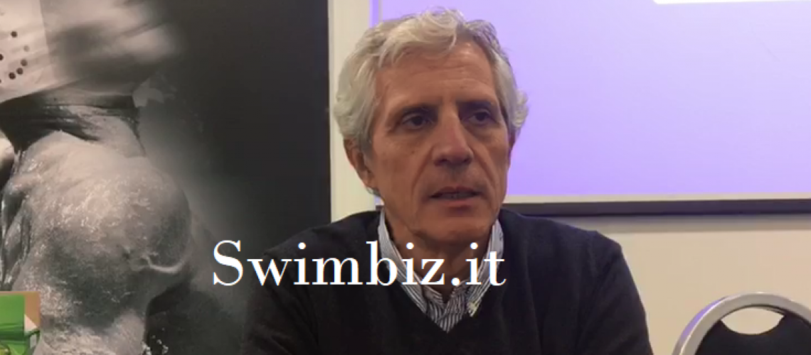 Cesare Butini a Swimbiz