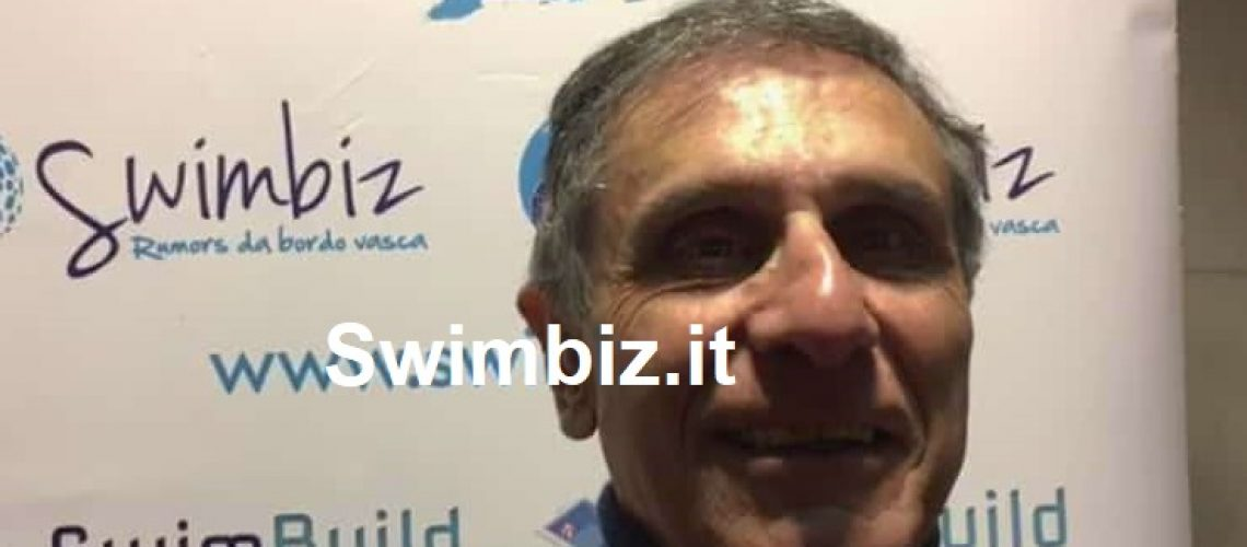 Claudio Barbaro al Flash Acquatico di Swimbiz