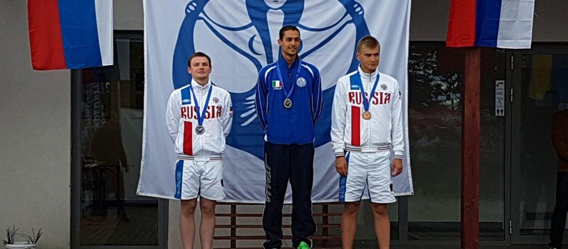 Davide De Ceglie, oro agli europei di nuoto pinnato a Wroclaw