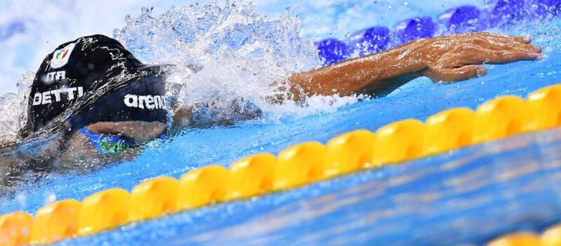 Gabriele Detti, bronzo olimpico 400 stile