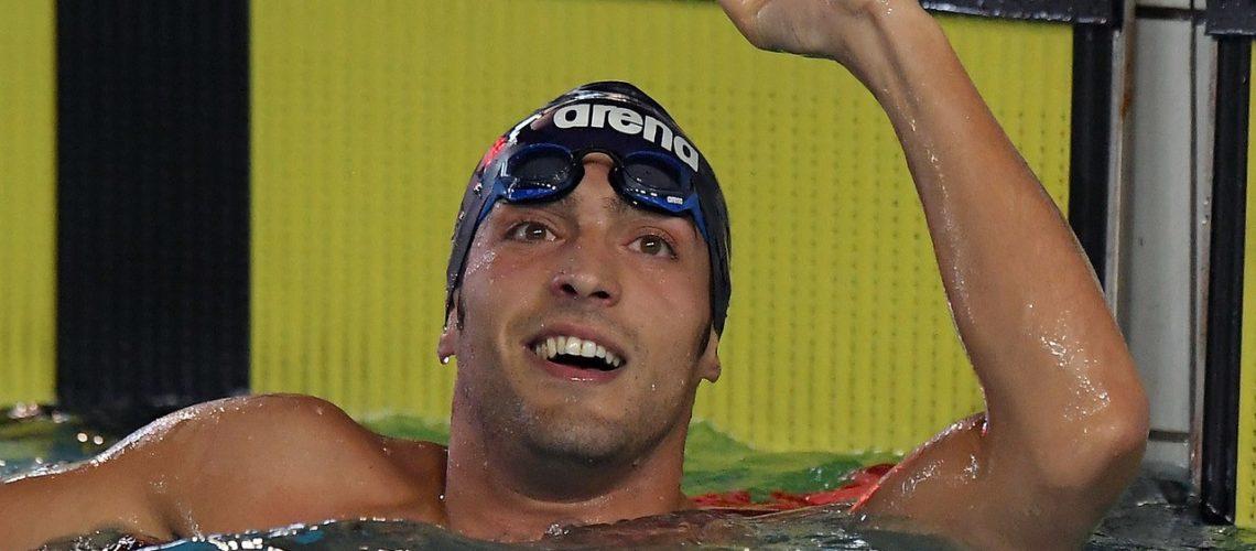 Gabriele Detti, recordman italiano 400 stile