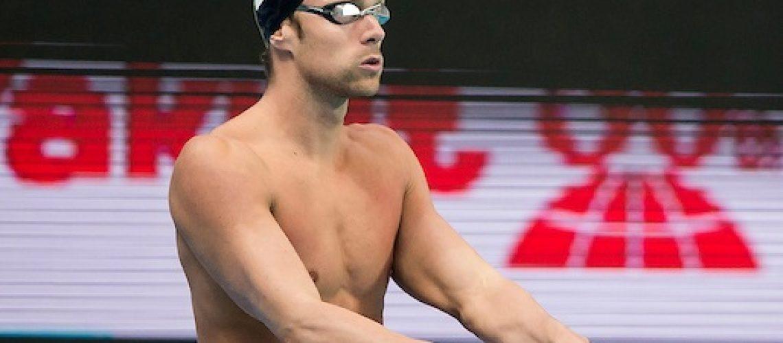 Luca Dotto, campione europeo dei 100 stile