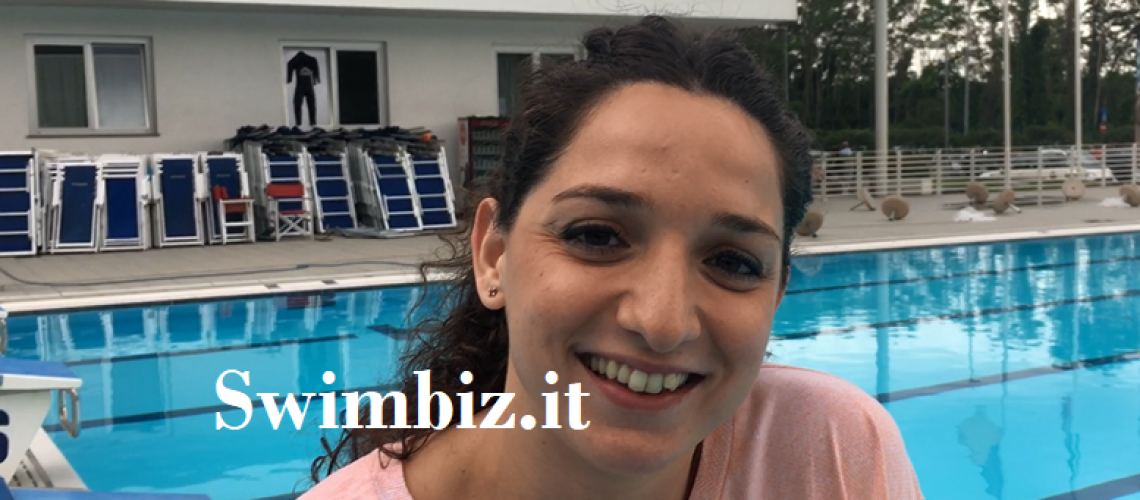Elena Di Liddo a Swimbiz