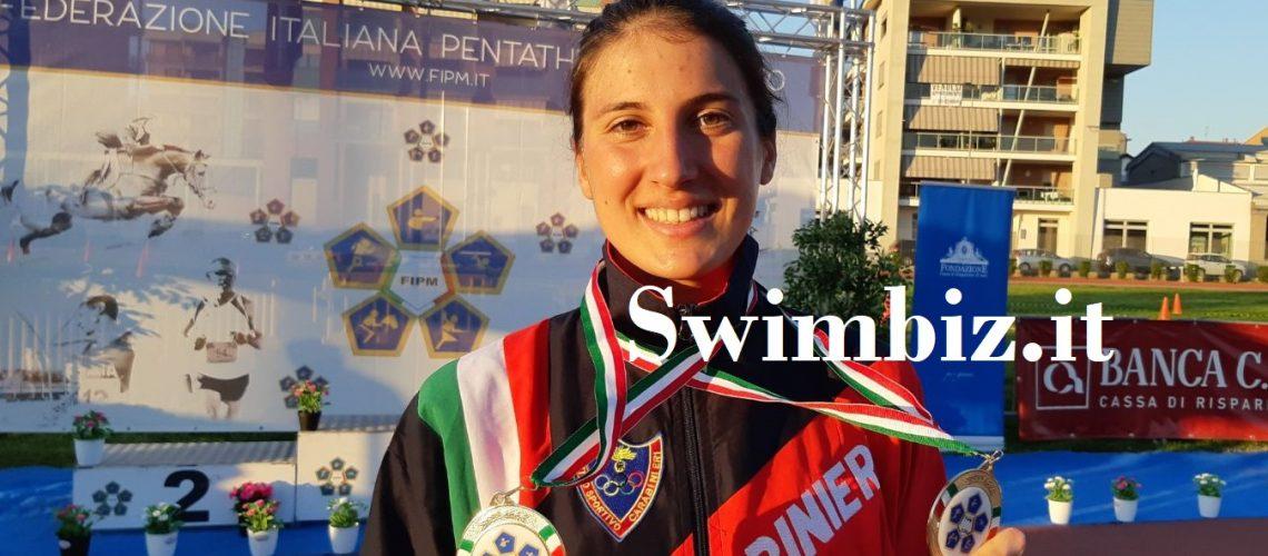 Elena Micheli, pentatleta