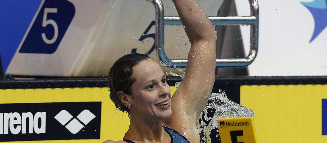 Federica Pellegrini alla prima gara dopo le Olimpiadi di Rio