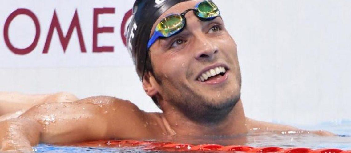 Gabriele Detti, bronzo olimpico e mondiale nei 400 m stile libero