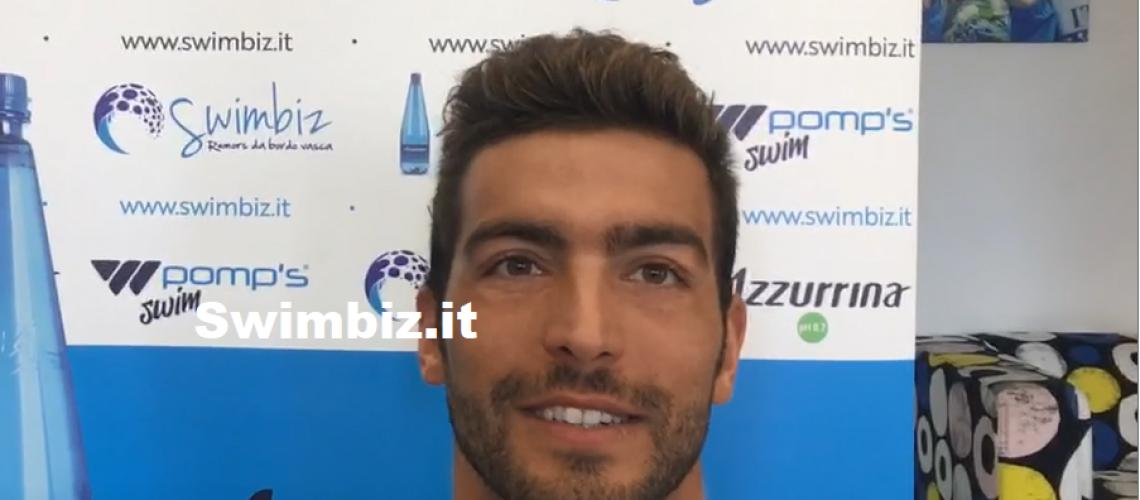 Gabriele Detti a Swimbiz