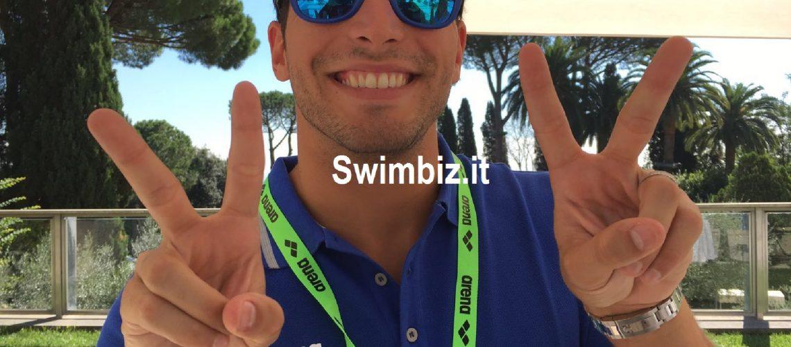 Gabriele Detti, doppio bronzo olimpico a Rio 2016