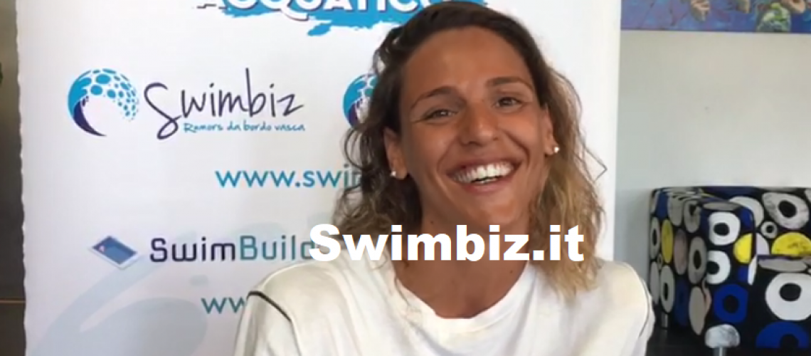 Giada Galizi al Flash Acquatico di Swimbiz
