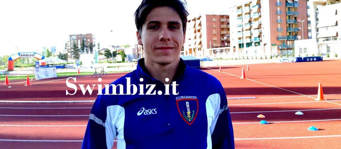 Gianluca Micozzi, pentatleta azzurro