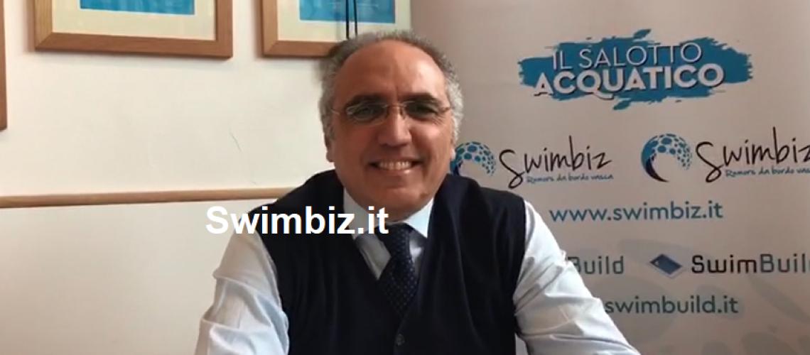 Gianni Nagni al Flash Acquatico di Swimbiz