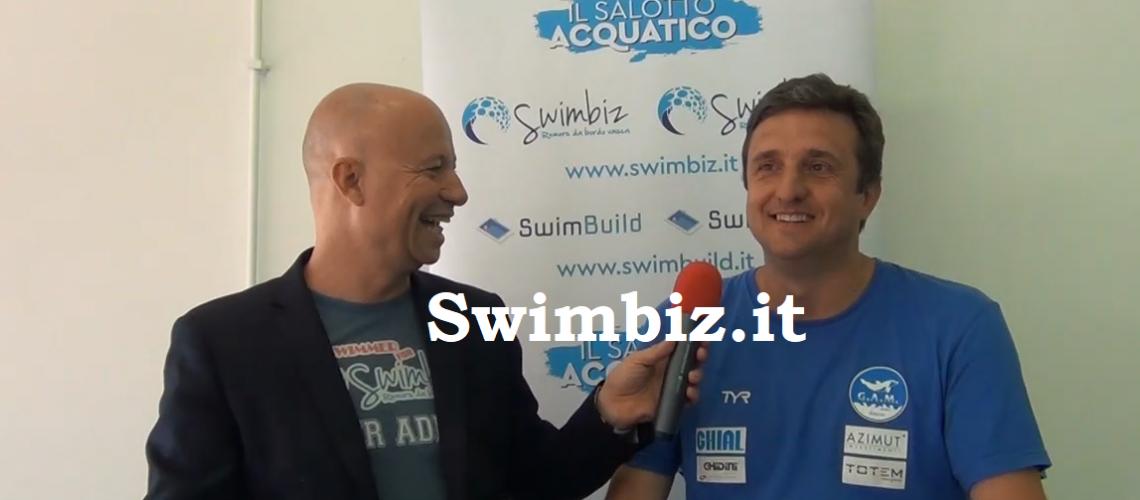 Giorgio Lamberti al Salotto Acquatico di Swimbiz