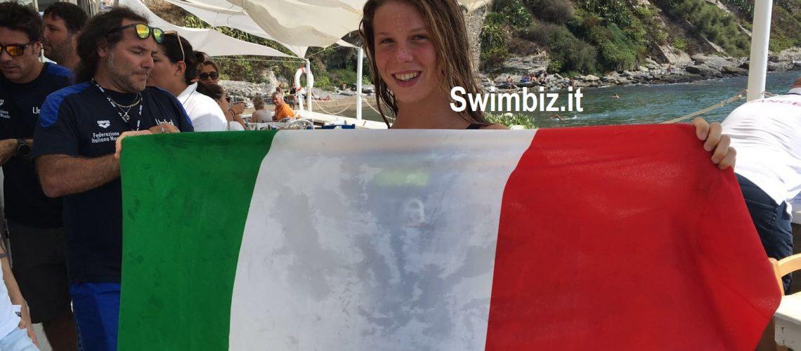Giulia Salin, medaglia d'oro agli Eurojunior di Piombino