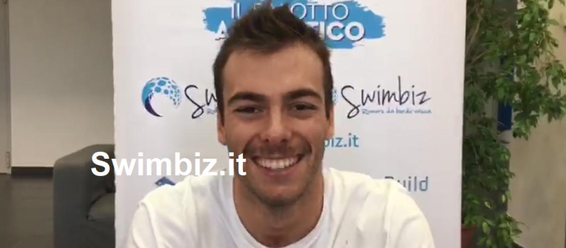 Gregorio Paltrinieri al Flash Acquatico di Swimbiz