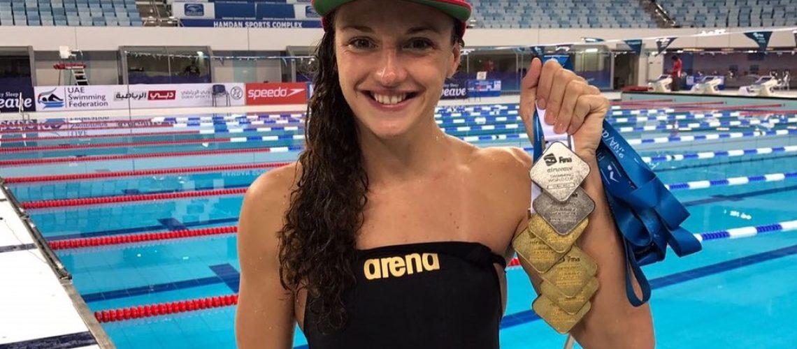 Katinka Hosszu in World Cup.