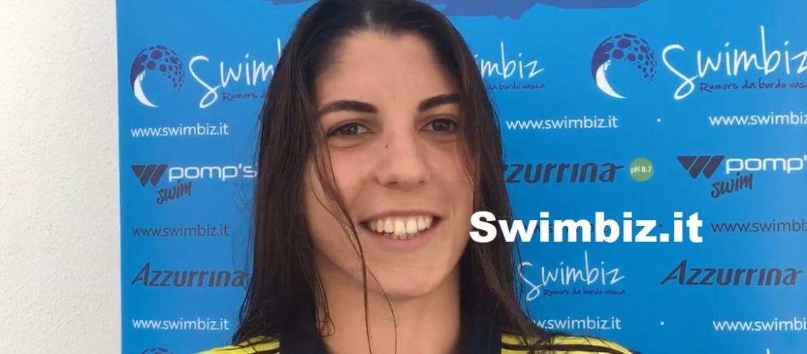 Isabella Sinisi a Swimbiz