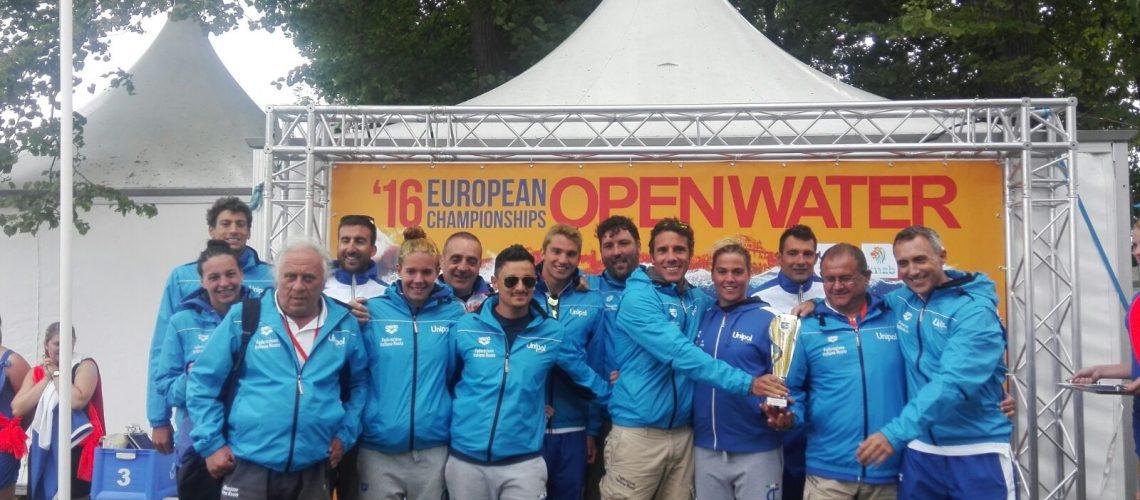 L'Italfondo agli Europei di Hoorn 2016.