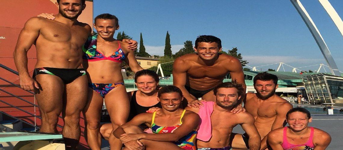 L'Italtuffi per Rio 2016