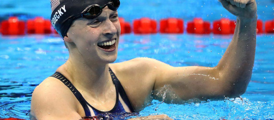 Katie Ledecky, olimpionica americana