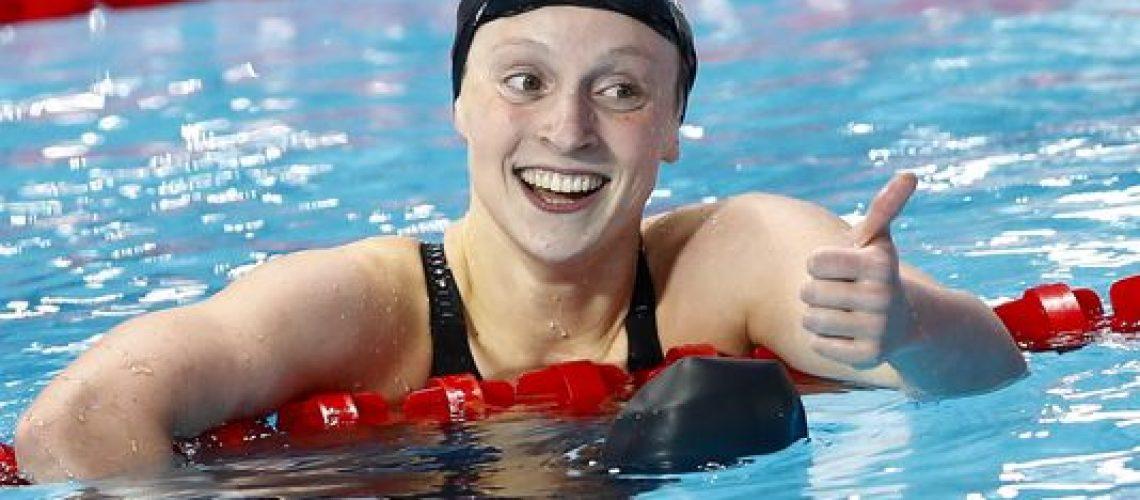 Katie Ledecky, record mondiale dei 1500 stile femminili