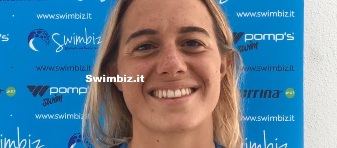 Letizia Paruscio a Swimbiz