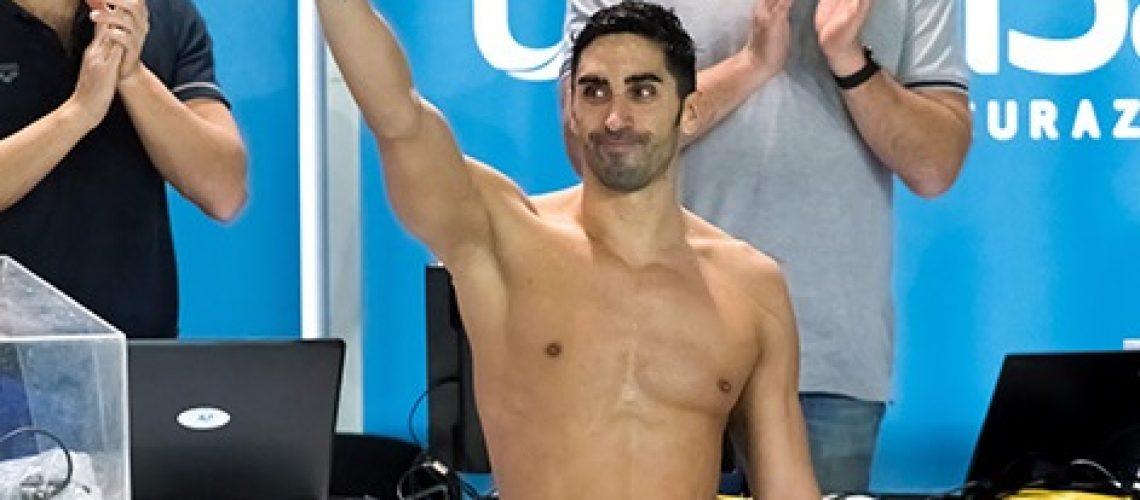 L'addio al nuoto di Filippo Magnini (Andrea Staccioli-Deepbluemedia/Insidefoto)