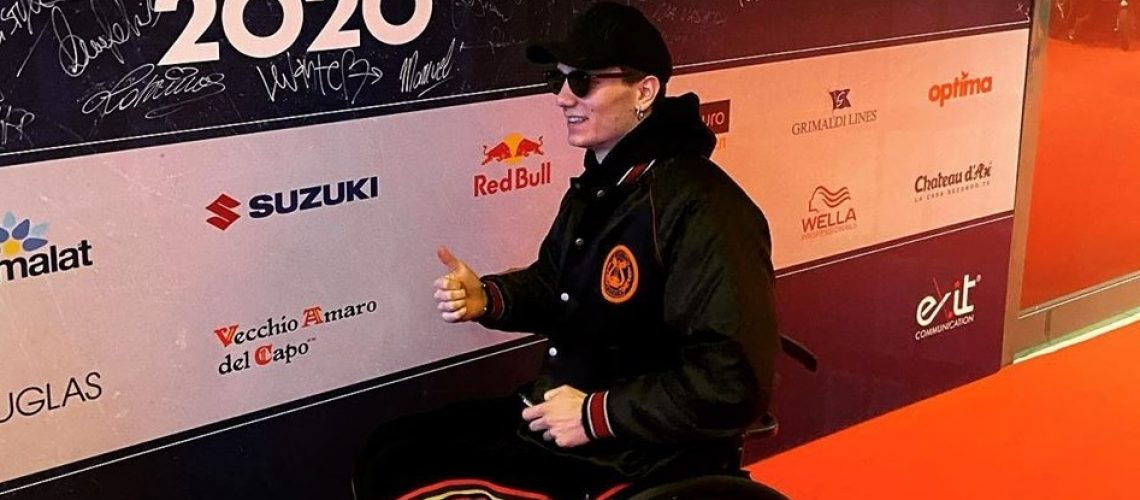 Manuel Bortuzzo al 70° Festival di Sanremo