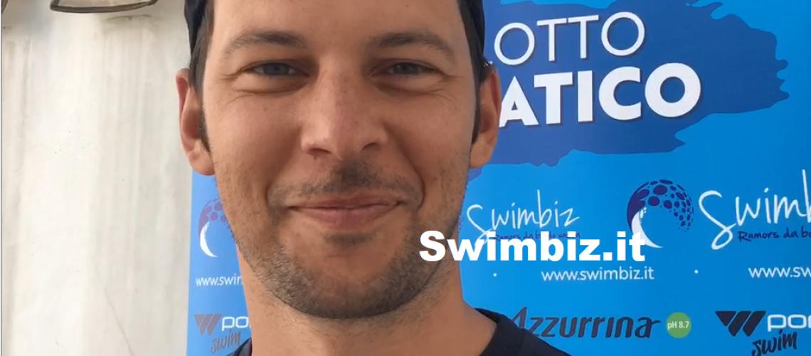 Matteo Giunta a Swimbiz