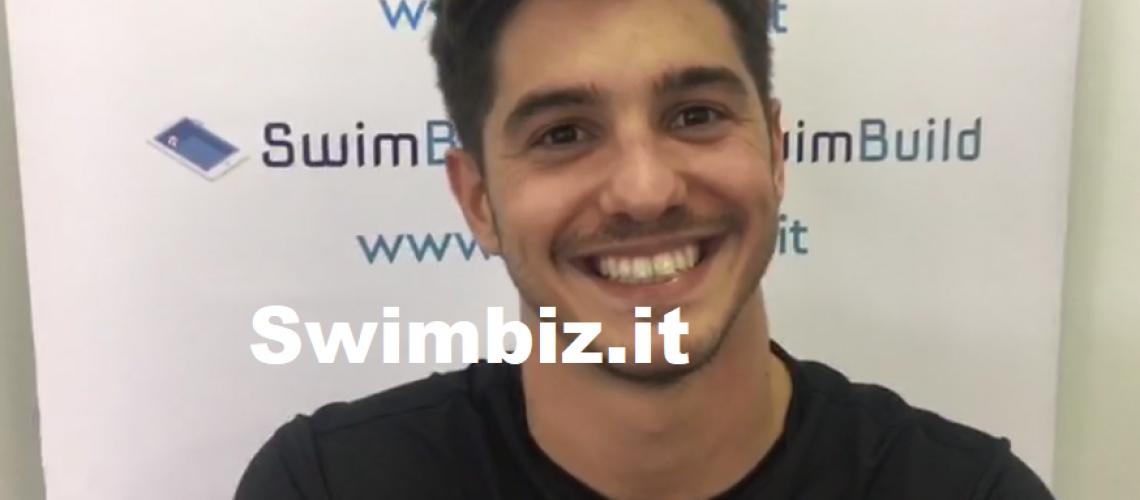 Matteo Restivo al Flash Acquatico di Swimbiz