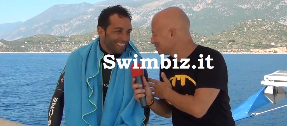 Michele Giurgola al Salotto Acquatico di Swimbiz