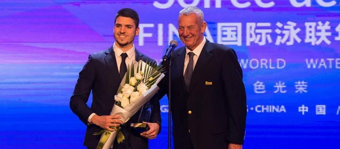 Giorgio Minisini premiato col Fina Award