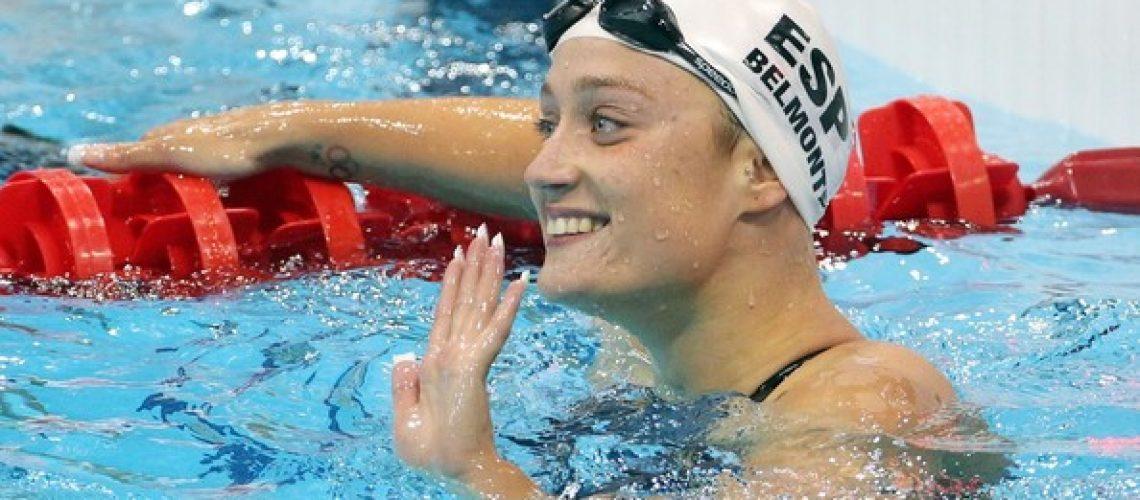 Mireia Belmonte Garcia, world record
