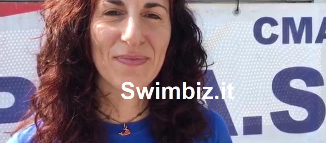Monica Barbero al Flash Acquatico di Swimbiz