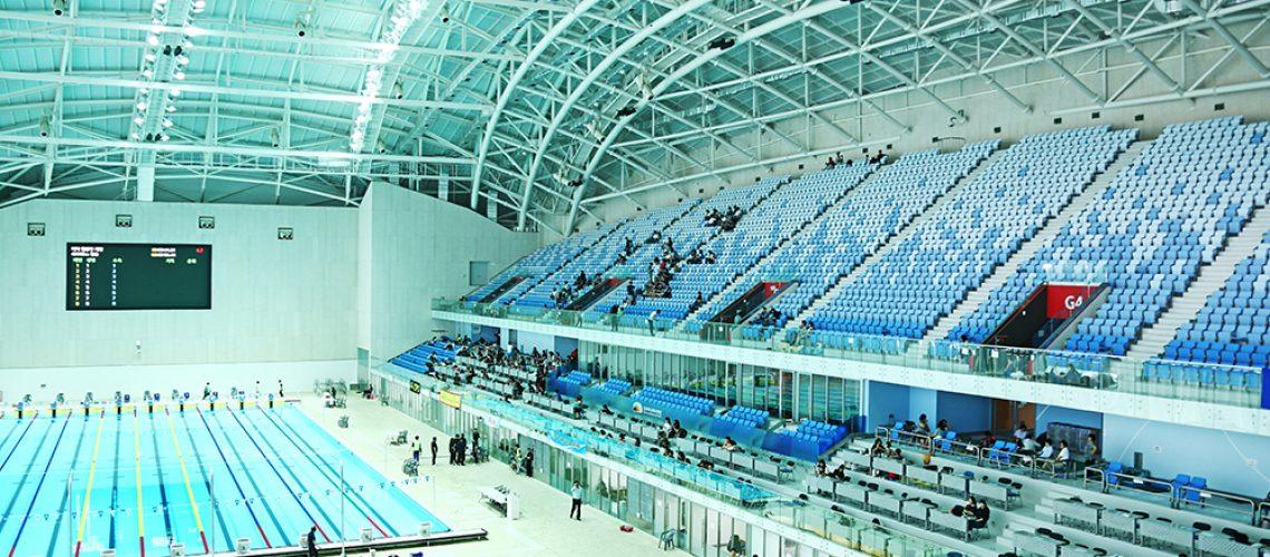 Il Nambu University Aquatics Center di Gwangju ospiterà le gare di nuoto ai Mondiali 2019