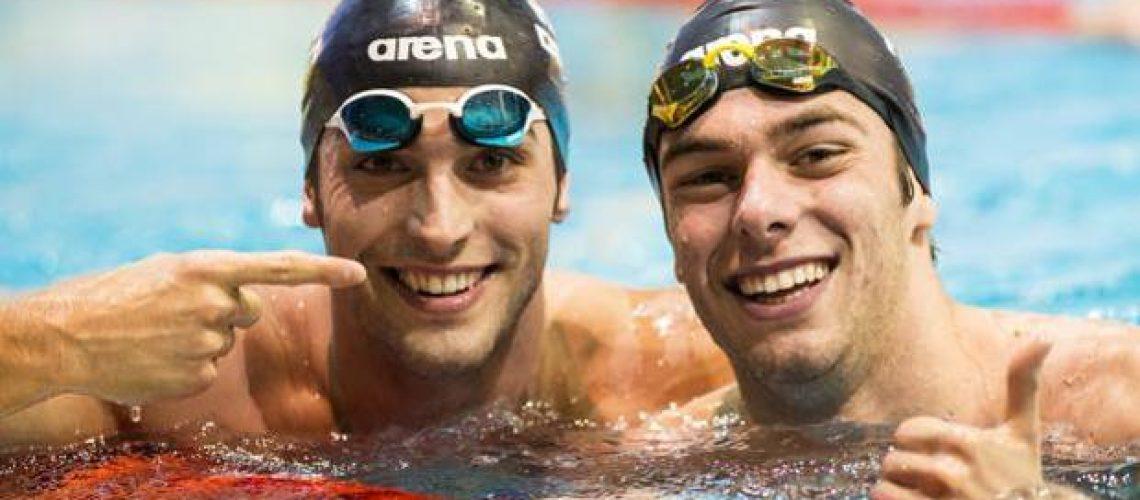 Gabriele Detti e Gregorio Paltrinieri