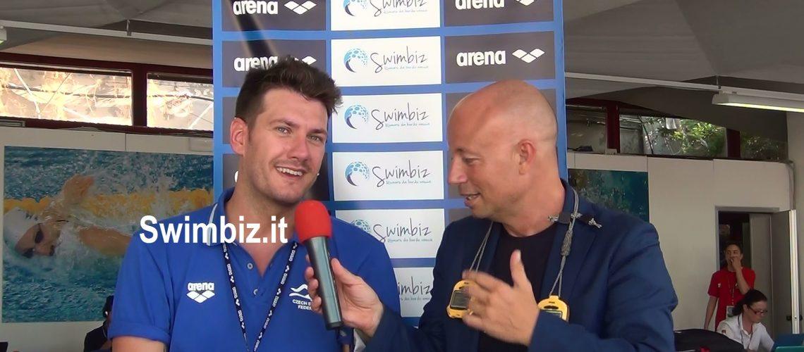 Paolo Bossini al Salotto Acquatico di Swimbiz.it