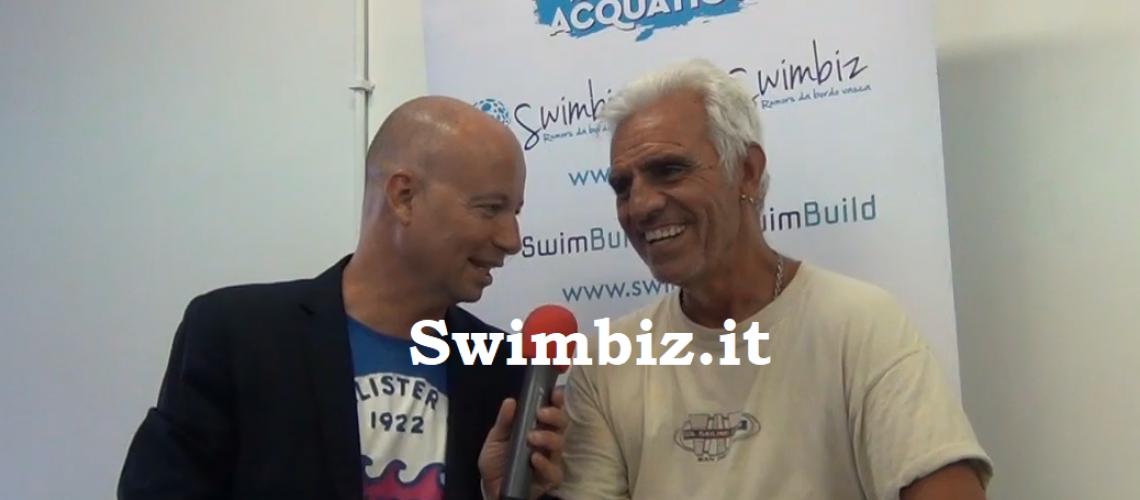 Paolo Penso al Salotto Acquatico di Swimbiz