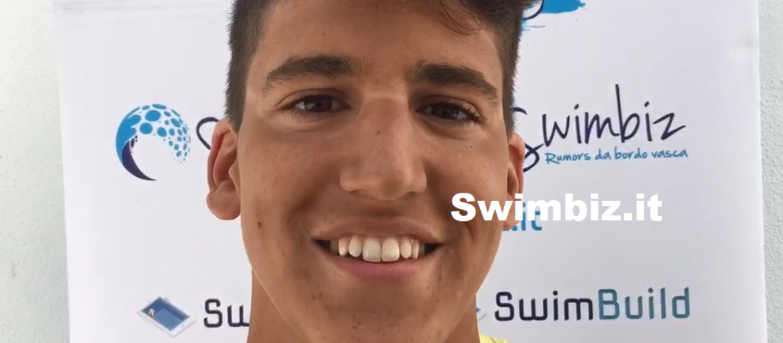Pasquale Sanzullo a Swimbiz