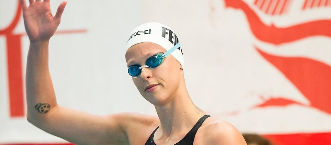 Federica Pellegrini al Trofeo Città di Milano