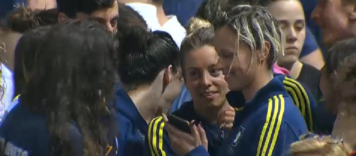 Selfie della vittoria per Federica Pellegrini (Rai Sport)