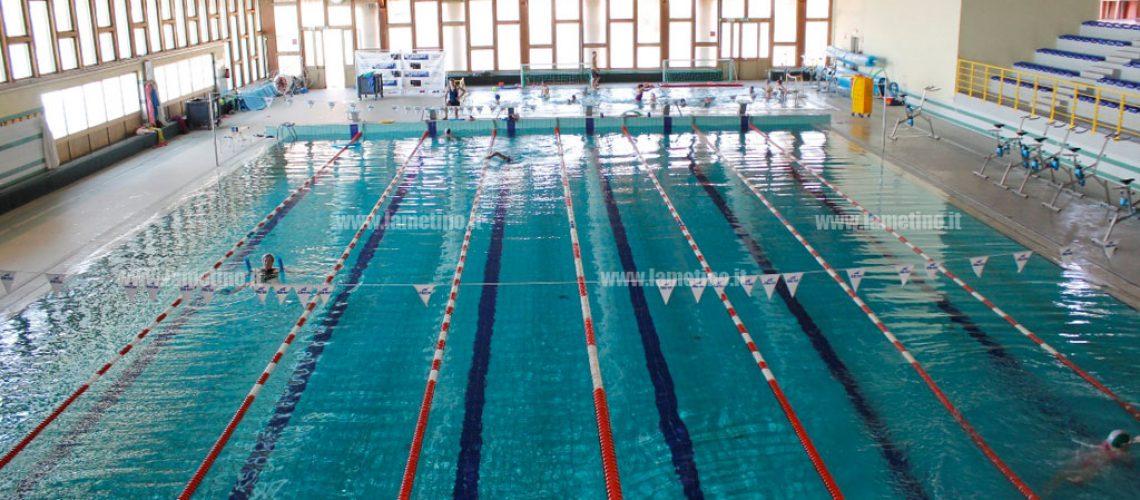 La piscina di Lamezia Terme