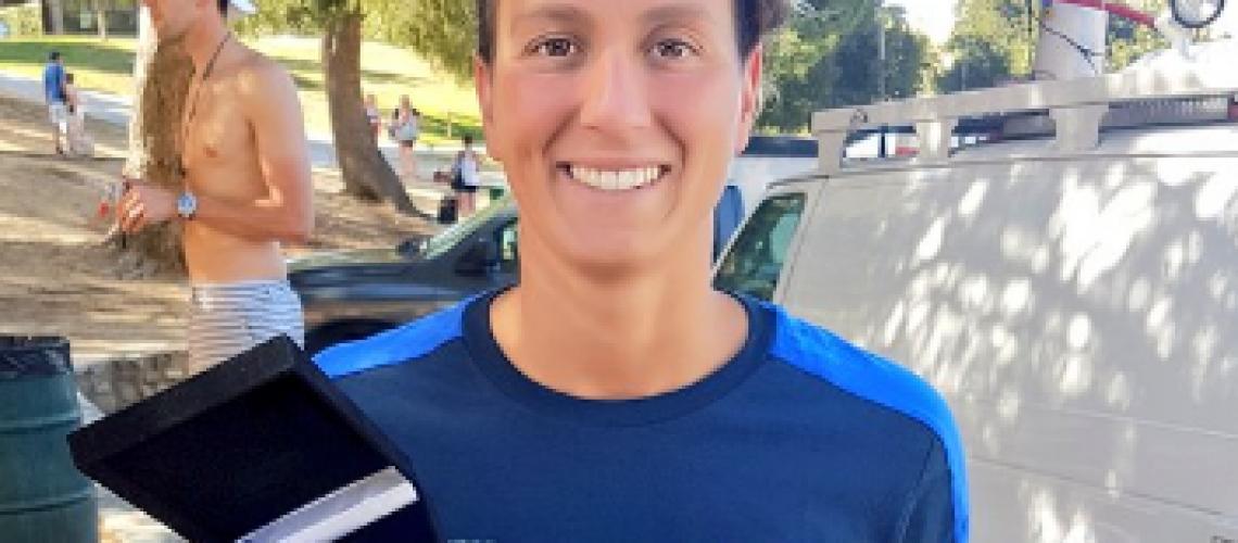 Rachele Bruni, argento olimpico di nuoto in acque libere