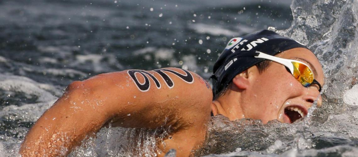 Rachele Bruni, argento olimpico