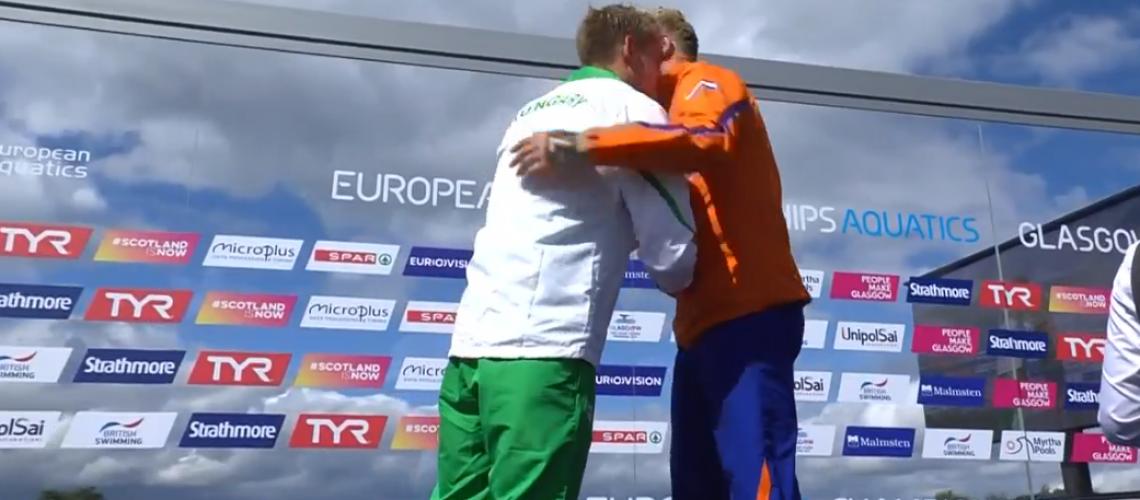 Weertman e e Raovszky sul podio